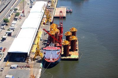 Manuseadores de Embarcações de Suprimento