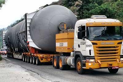 Transportes de cargas pesadas