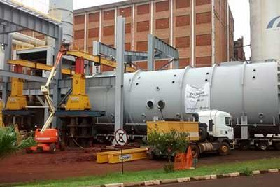 Remoções e Transportes de cargas pesadas